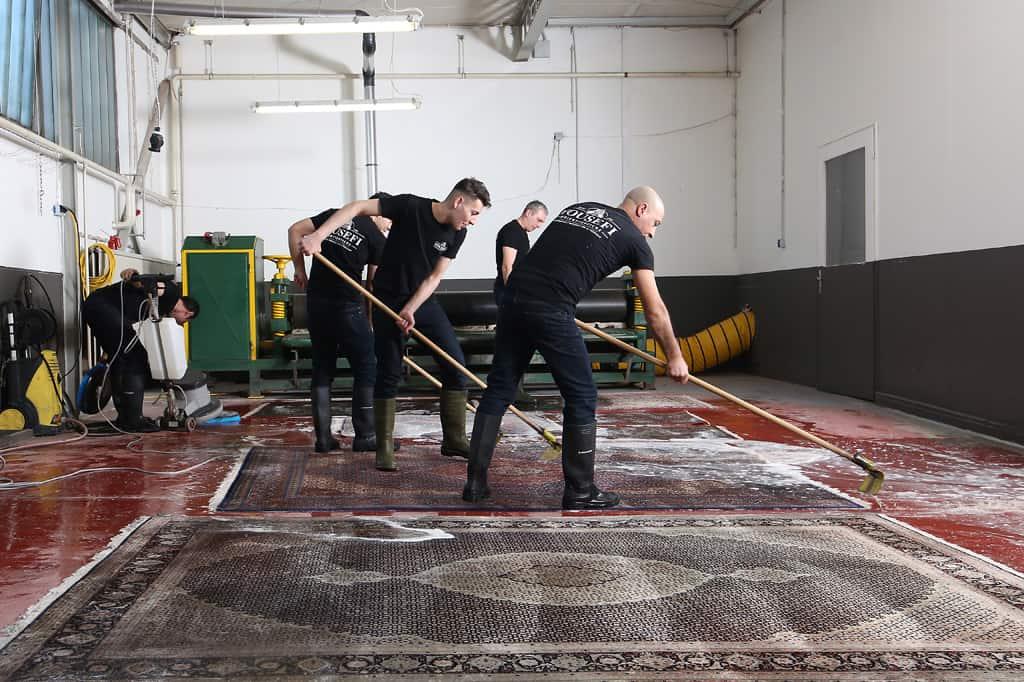 Waschen 1 - Teppichreinigung